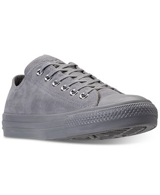 Converse Women's Chuck Taylor Plush Suede Ox Casual Sneakers from Finish Line