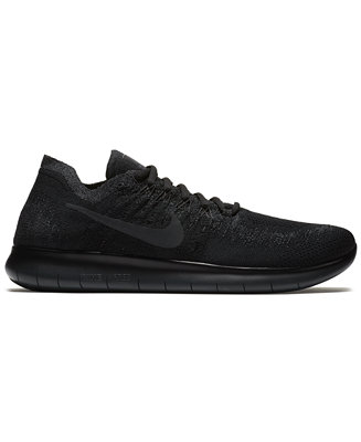 74f9d05ded6 Nike Men s Free Run Flyknit 2017 Running Sneakers from Finish Line    Reviews - Finish Line Athletic Shoes - Men - Macy s