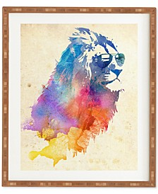 Robert Farkas Sunny Leo Bamboo-Framed Wall Art
