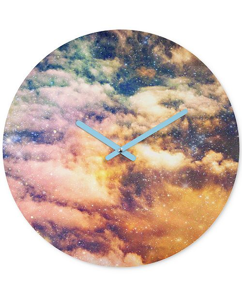 Deny Designs Shannon Clark Cosmic Round Clock