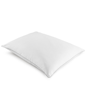 Dream Science Wont Go Flat Foam Core Firm King Down Alternative Pillow by Martha Stewart Collection Created for Macys Bedding