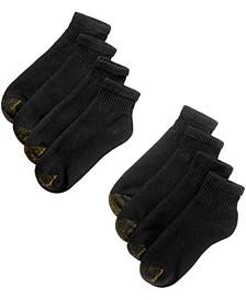 Men's 8-Pack Quarter Socks