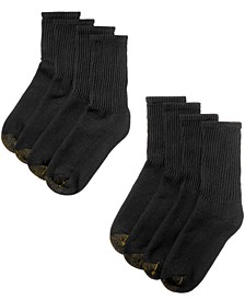 Men's 8 Pack Short Crew Socks
