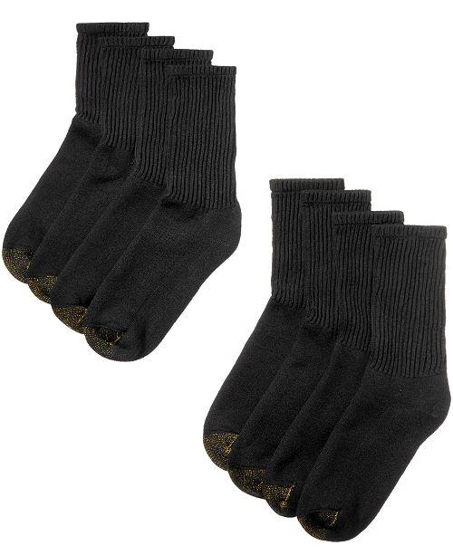 Men's 8 Pack Short Crew Socks