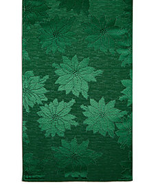 "Bardwil Winter Joy Green 70"" Runner"
