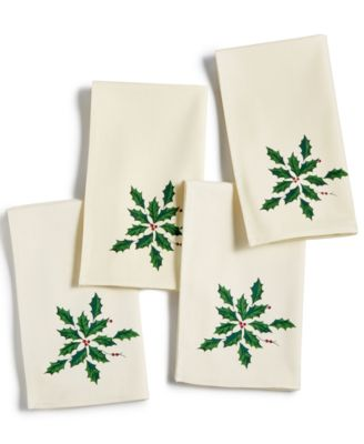 Holiday Gifts Napkins, Set Of 4