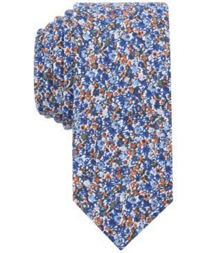 Bar Iii Men's Dandy Floral Skinny Tie, Created for Macy's thumbnail