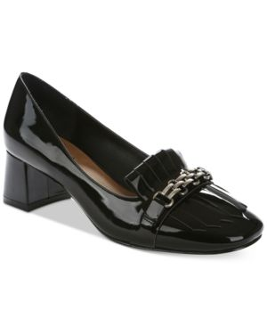 Tahari Mary Block Heel Pumps Women