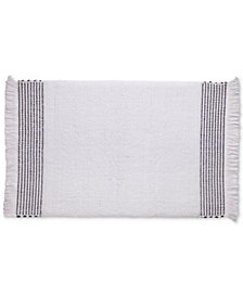"Kassatex Amagansett 20"" x 30"" Cotton Bath Rug"