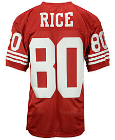 Mitchell & Ness Men's Jerry Rice San Francisco 49ers Authentic Football Jersey