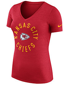 Nike Women's Kansas City Chiefs Dri-Fit Touch T-Shirt