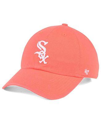 '47 Brand Chicago White Sox Grapefruit CLEAN UP Cap