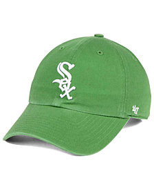 '47 Brand Chicago White Sox Fatigue Green CLEAN UP Cap