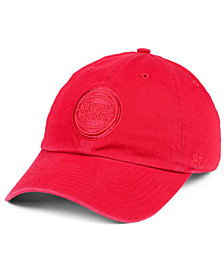 '47 Brand Detroit Pistons Triple Rush CLEAN UP Cap