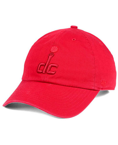 '47 Brand Washington Wizards Triple Rush CLEAN UP Cap
