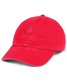 '47 Brand Portland Trail Blazers Triple Rush CLEAN UP Cap
