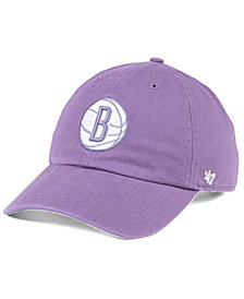 '47 Brand Brooklyn Nets Pastel Rush CLEAN UP Cap