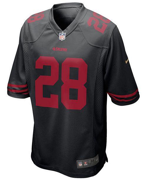 half off 769b1 1a704 Nike Men's Carlos Hyde San Francisco 49ers Game Jersey ...