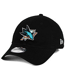 New Era San Jose Sharks Relaxed 9TWENTY Strapback Cap