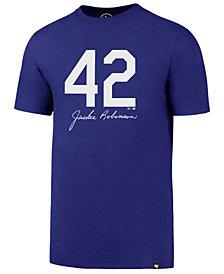 '47 Brand Men's Jackie Robinson Brooklyn Dodgers Club JR Signature T-Shirt