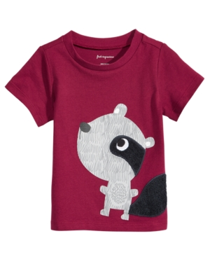 First Impressions RaccoonPrint Cotton TShirt Baby Boys (024 months) Created for Macys