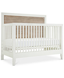 Avery Baby 4-In-1 Convertible Crib (Convertible Crib, Bed Rails, Slat Roll & Footboard)