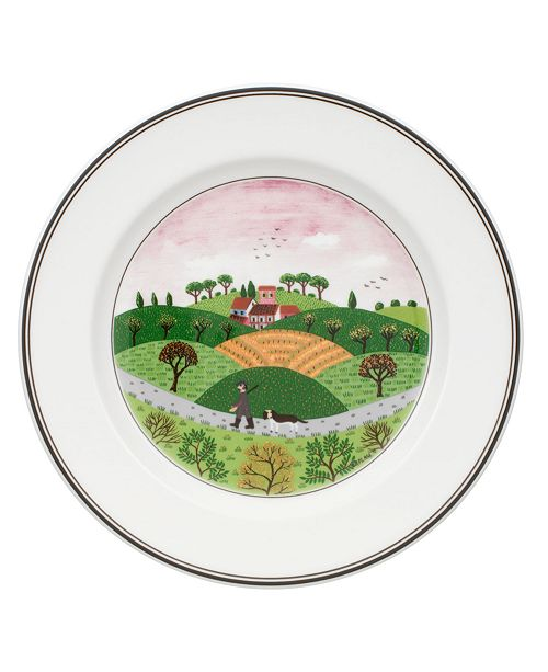 Villeroy & Boch Dinnerware, Design Naif Rim Salad Plate Hunter & Dog
