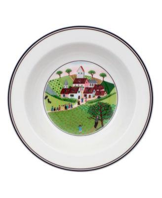 Dinnerware, Design Naif Rim Cereal Bowl Wedding Procession