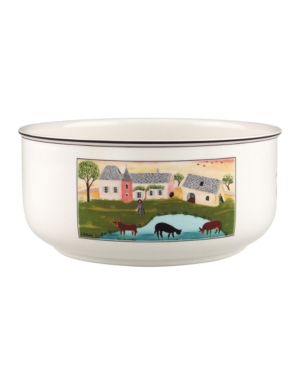 Villeroy  Boch Dinnerware Design Naif Round Vegetable Bowl Cows