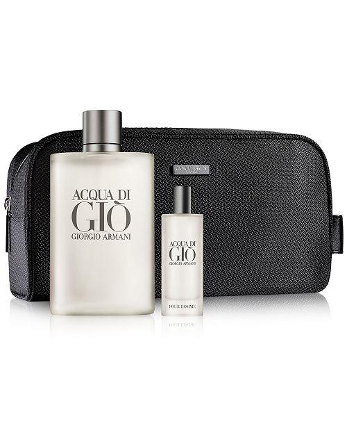 d1a786bb6b Giorgio Armani 3-Pc. Acqua di Giò Gift Set   Reviews - All Cologne ...