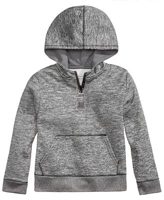 Champion Quarter-Zip Hooded Sweatshirt, Toddler Girls