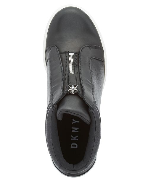 d7c1dd328249 ... DKNY Connie Slip-On Wedge Sneakers