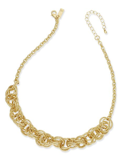 INC International Concepts I.N.C. Multi-Ring Statement Necklace, Created for Macy's