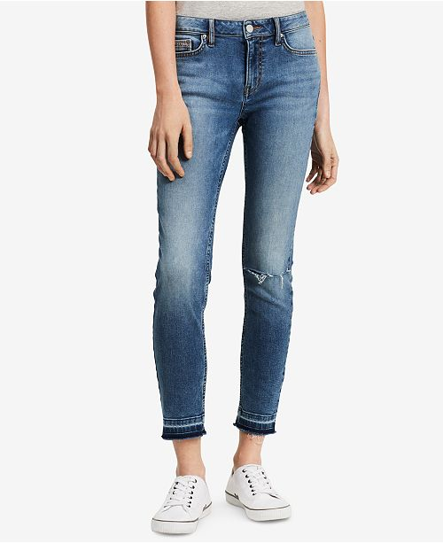 4f0317ea16db Calvin Klein Jeans Ankle Skinny Jeans   Reviews - Jeans - Women ...