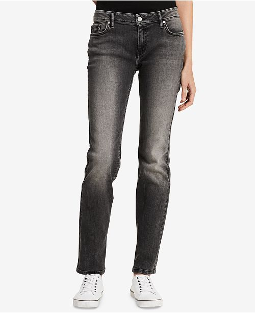 Calvin Klein Jeans Straight Leg Jeans Jeans Women Macy S