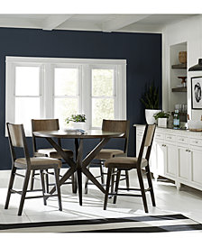 Ashton Round Pedestal Pub Dining Furniture Collection