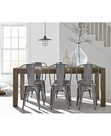 Create Your Look: Mix U0026 Match Dining Table + Quick Ship Chairs