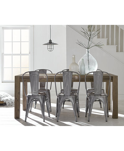 Create Your Look: Mix & Match Dining Table + Quick Ship Chairs