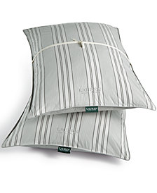Lauren Ralph Lauren Graphton Reversible Yarn-Dyed Stripe 2 Pack Standard Pillows
