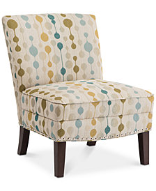 Alchemy Slipper Accent Chair, Quick Ship