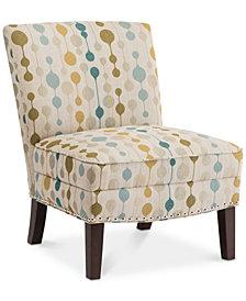 Hayden Slipper Accent Chair, Quick Ship