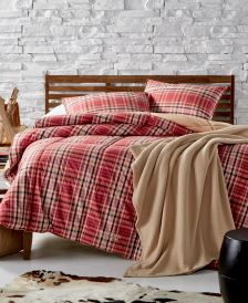 Sophia Reversible Yarn-Dyed Plaid Full/Queen Down-Alternative Comforter