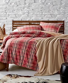 Lauren Ralph Lauren Sophia Reversible Yarn-Dyed Plaid King Down-Alternative Comforter