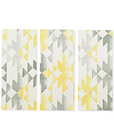 INK+IVY Yellow Sierra 3-Pc. Gel-Coated Canvas Print Set