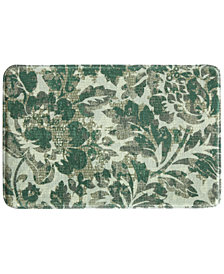"Bacova Milady 20"" x 30"" Floral Tile Accent Rug"