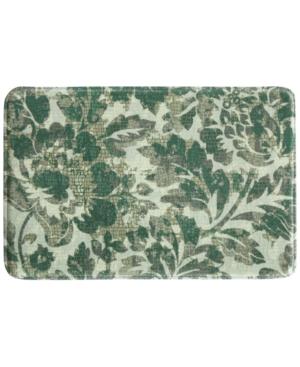 Bacova Milady 20 x 30 Floral Tile Accent Rug Bedding
