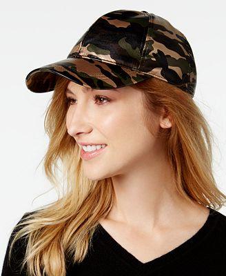 August Hats Camo-Print Baseball Cap