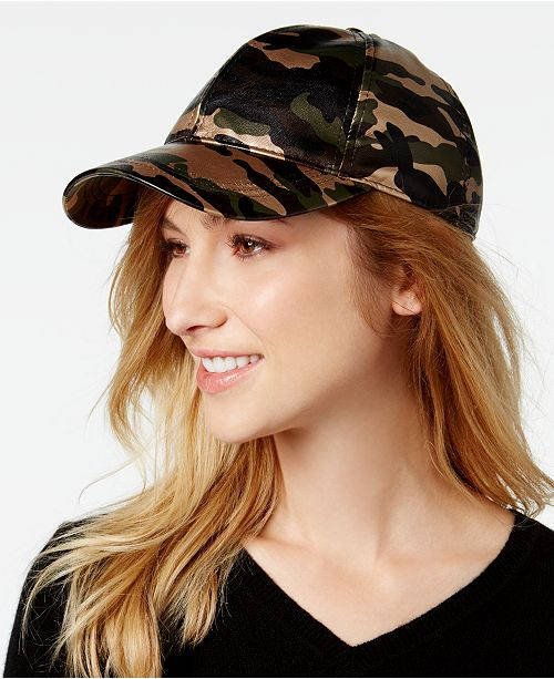 August Hats Camo-Print Baseball Cap