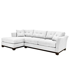Michelle 2-Pc. Chaise Sectional Sofa, Created for Macy's