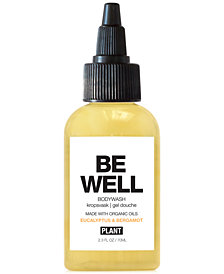PLANT Apothecary Be Well Bodywash, 2.3-oz.